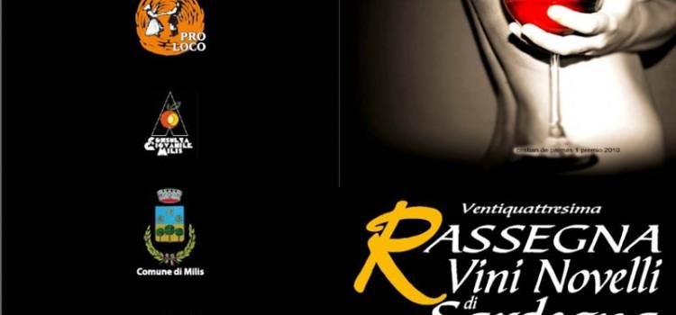 Milis: 24° Rassegna dei Vini Novelli di Sardegna 2011.