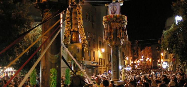 Feste Sarde: I Candelieri Sassari 14 agosto