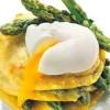 Lasagnetta con Asparagi e uovo in camicia