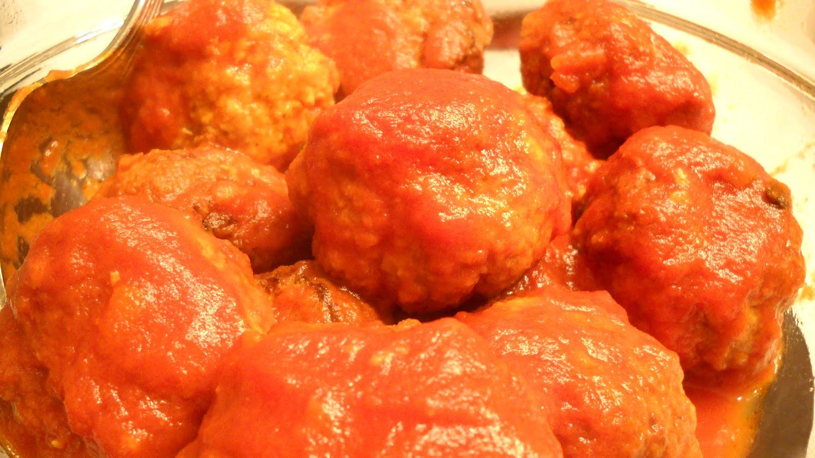 Cucina sarda polpette di carne di mista al sugo ricette for Cucina italiana ricette carne