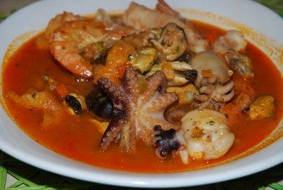 ricetta della zuppa di pesce
