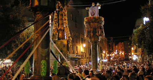 Picture: Festa dei candelieri (sassari) by matteopinti, on Flickr