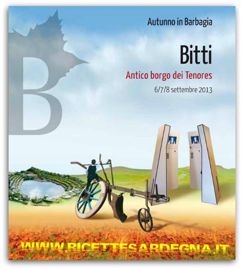 Autunno in Barbagia 2013 : Bitti l'antico borgo dei Tenores
