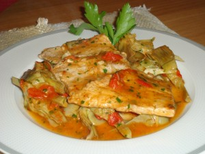 Clelia in cucina - scaloppine di vitello ai carciofi