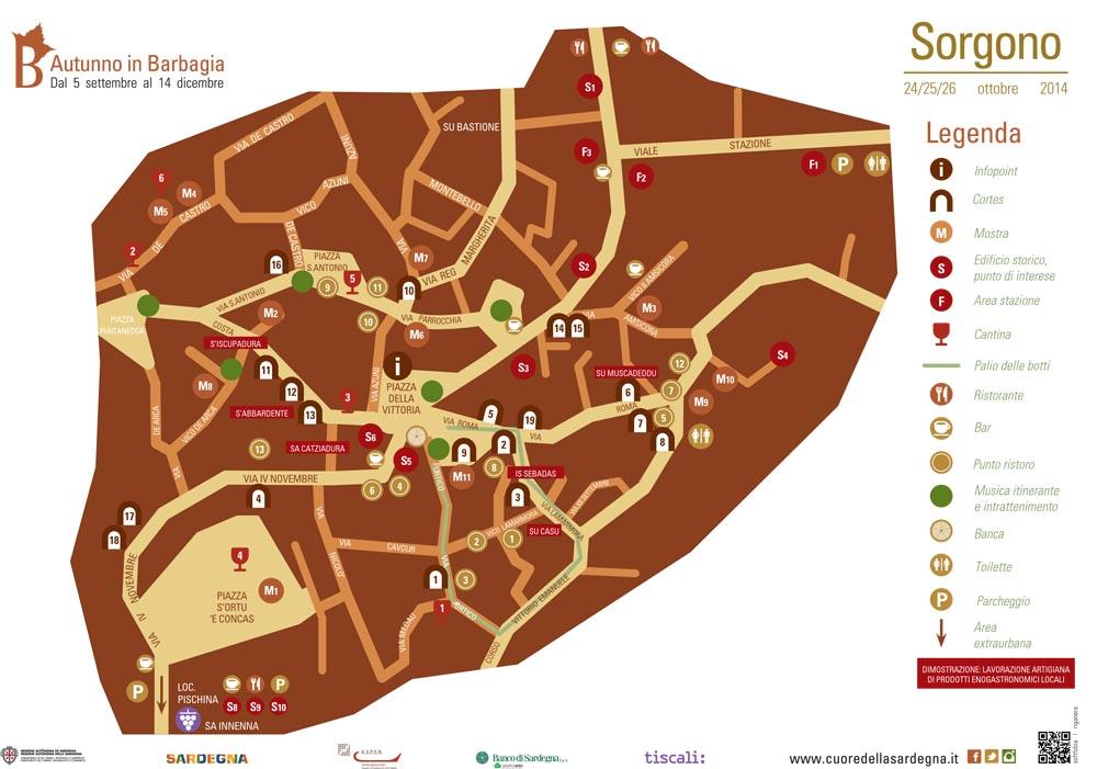 SORGONO cartina A4.indd