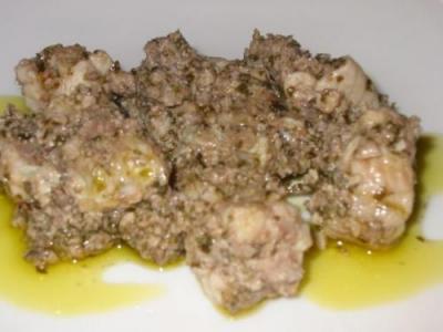 BURRIDA (piatto tipico Cagliaritano)