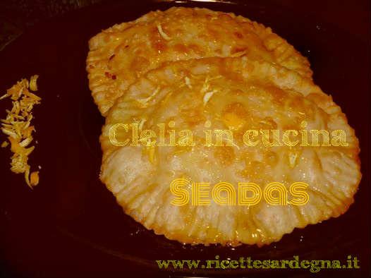 Le Seadas nella ricetta di Clelia