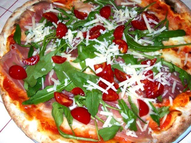 La Sardegna vince anche con la pizza