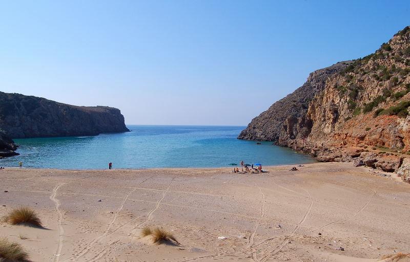 Le spiagge Sarde in volo – Cala Domestica