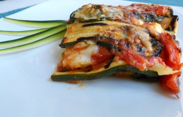Il secondo che fa la differenza: la parmigiana di zucchine